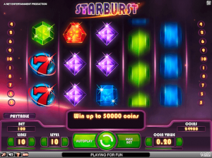 Starburst screenshots